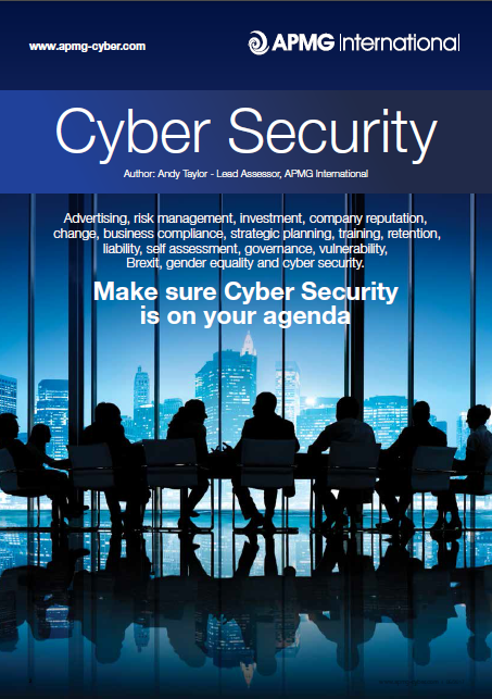 Make Sure Cyber Security Is On Your Agenda