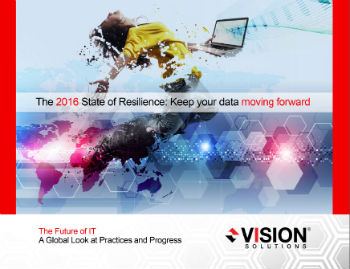 The 2016 State of Resilience: Keep your data moving forward