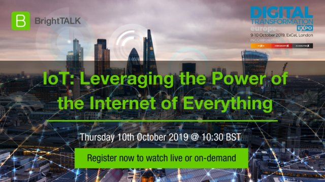 IoT: Leveraging the Power of the Internet of Everything