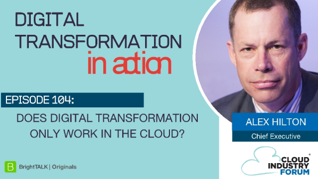 Does Digital Transformation only work in the Cloud?