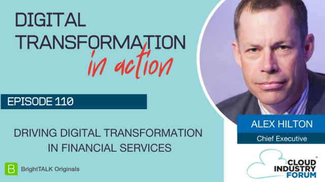 Driving Digital Transformation in Financial Services