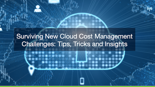 Surviving New Cloud Cost Management Challenges: Tips, Tricks and Insights