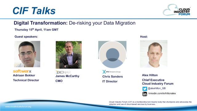 Digital Transformation: De-Risking Your Data Migration
